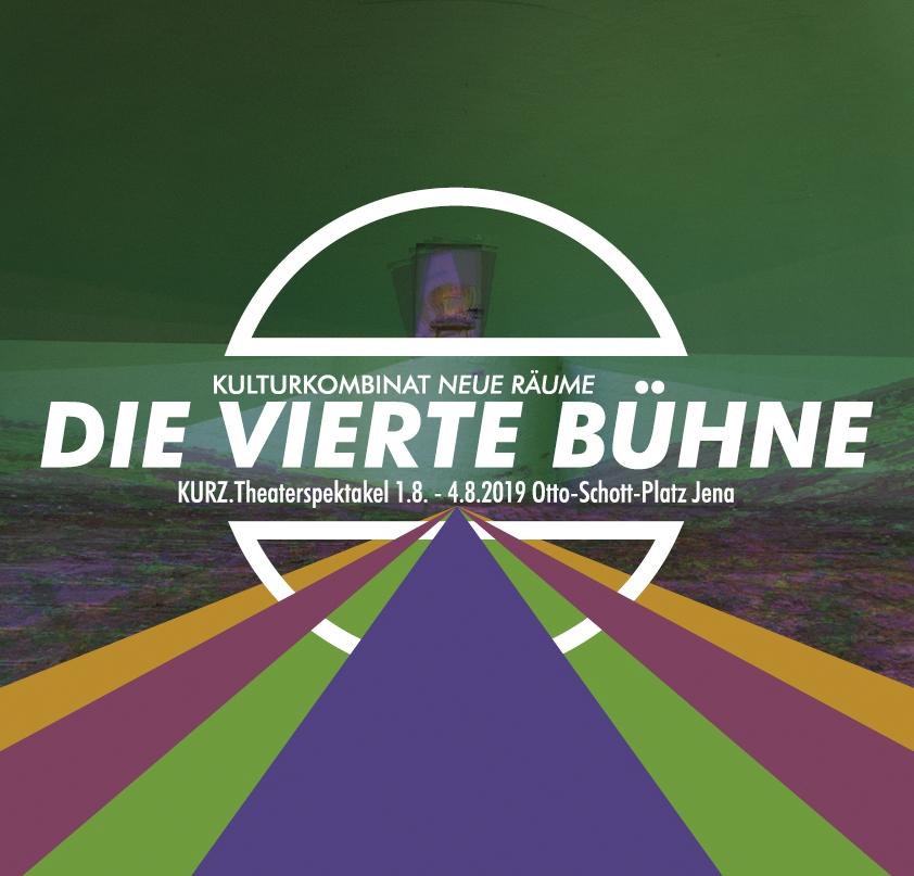 """Plakat """"Die Vierte Bühne"""" 2019"""