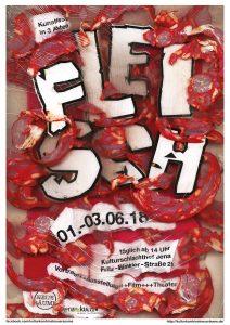 """Plakat """"Fleisch"""""""